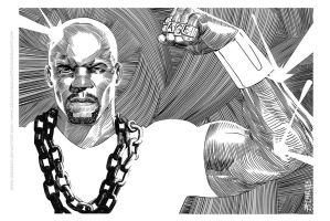 Luke Cage by zecarlos