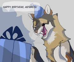 Happy Birthday, Astarcis! by Quillistic
