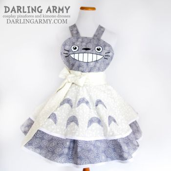 Totoro Studio Ghibli Cosplay Pinafore by DarlingArmy