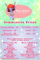 Commission Pricing Sheet by KaiNoKimi