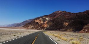 Death Valley's Endless Road by AthenaIce