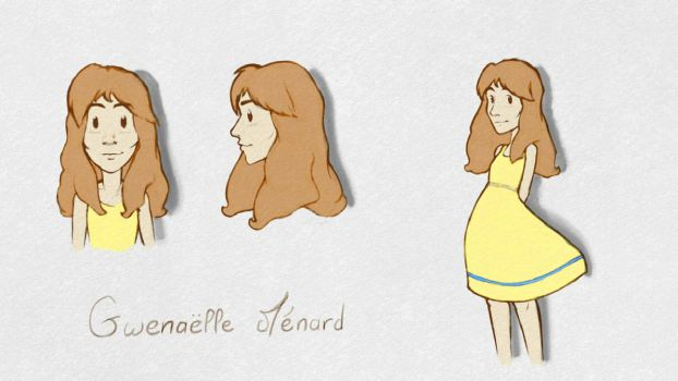 Gwenaelle Menard: REFERENCE by The-Simple-Man