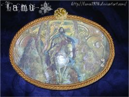 Decoupage Knight cavaliere by lamu1976