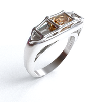 13-05-16 Gem cage ring by dwsel