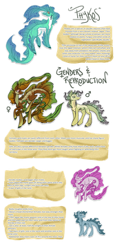 Phykos species guide - part 1 by byDaliaPamela