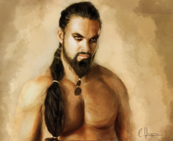 Khal Drogo by Yellowtwist