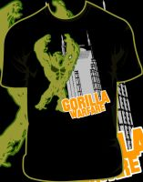 Gorilla Warfare shirt by JamesRuthless