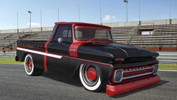 1965 Chevrolet C10 Pickup by SamCurry
