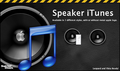 Speaker iTunes by sketched-dreams