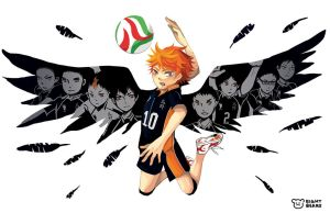 Haikyuu - Wing by eight-bears