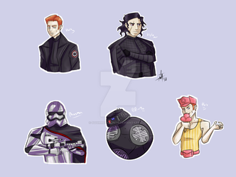 First Order Babes by SquirrelKitty76