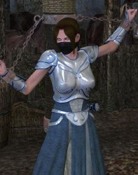 M.E. 18 - Chained warrior by MndlessEntertainment