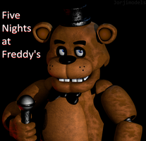 Freddy Fazbear by jorjimodels