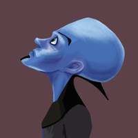 Megamind WIP 2 by poplite