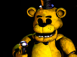 FNAF Golden Freddy - Fanmade by FreddyFredbear
