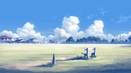 Lonely Bench by mclelun