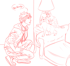 Quinn And Au Nao Natsu Cats by AcerbusKeeper