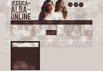 layout ft. jessica alba by Andie-Mikaelson