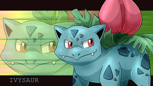 Ivysaur wallpaper by Natsuakai