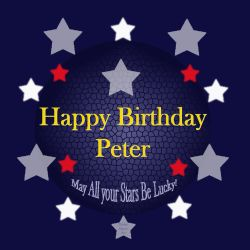 Happy Birthday Peter! by Shirley-Agnew-Art