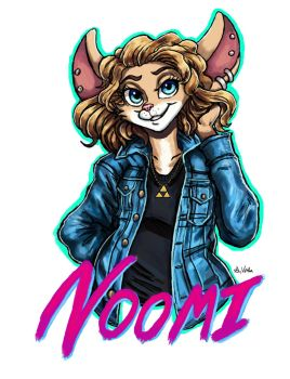 Noomi - FE 2018 Badge by TheLivingShadow