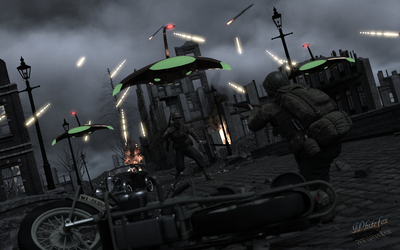 War Of The Worlds by Whitefox2010