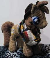 Doctor Whooves 4th Generation by NerdyKnitterDesigns