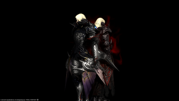 FFXIV- My light and darkness by Y-Yorle