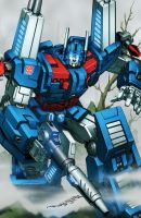 Ultra Magnus colours by markerguru
