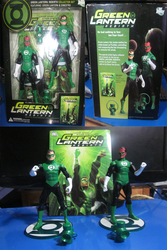 Green Lantern: Rebirth Collector's Set by RatedrCarlos