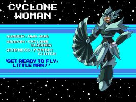 DWN-098: Cyclone Woman by Garth2The2ndPower
