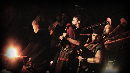 Barbarian Pipe Band by rrapio