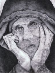 old man by Powellz