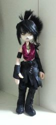 Custom Morrigan doll by Acemay