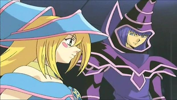 Dark Magician Girl And Dark Magician Nice Together by chrisman83