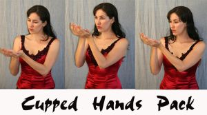 cupped hands pack by LongStock