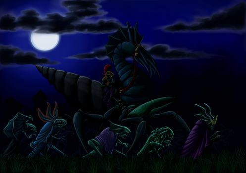 Army of the Dagon by Vizcexa