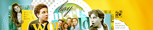 Boy Meets World Banner by xcrusnik