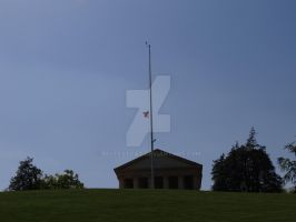 Half Staff For the Rememberance of the day by Bestestcat