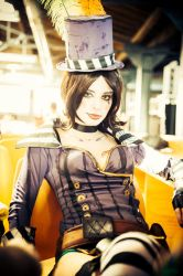 Moxxi resting by ThelemaTherion