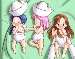 Maternity Ward Babies Pt. 5 by AR-Oasis