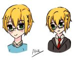APH: Nyo England / Short hair / by united-drawer