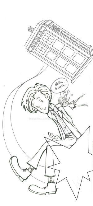 The Doctor and his Fairy companion