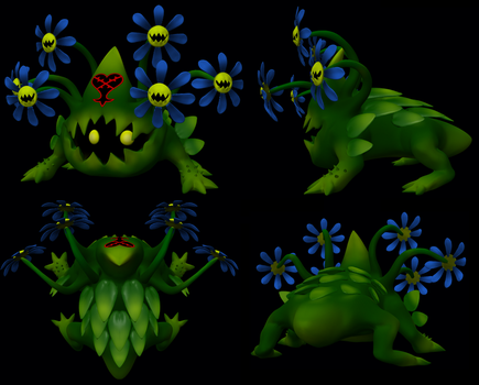 Plant Hydra Heartless by dimelotu
