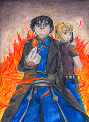 -Roy and Riza- by Mewn-san