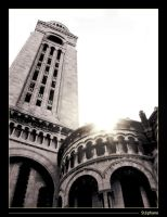 Sacre coeur perspective by StephArt09