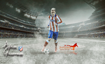 Antoine Griezmann by InfiernoRojiblanco
