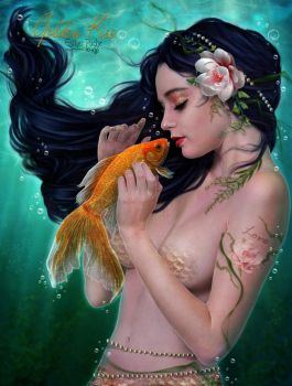 Golden Kiss by EstherPuche-Art