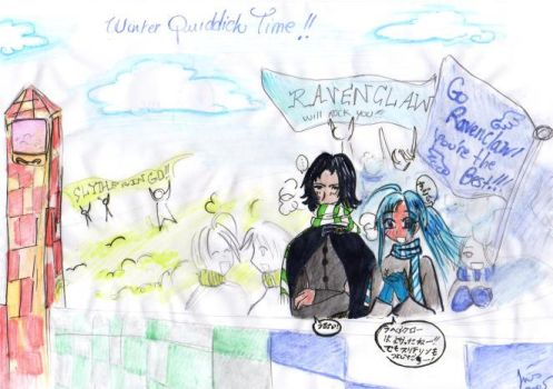 HP: Winter Quiddich Time by Severus-Snape-Club
