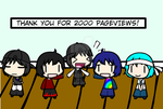 (walfas) Thank you for 2000 Pageviews!!! by Godeung